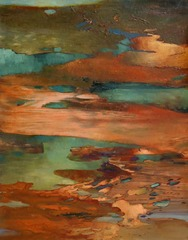 Copper Landscape, Margaret Lazzari