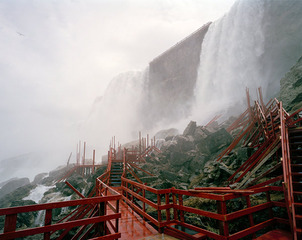 Niagara Falls, stairs, Edie Winograde