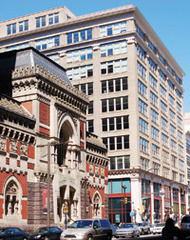 Historic Landmark Building and the Samuel M. V. Hamilton Building. ,