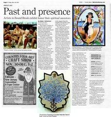 \'Requiem\' : (a passage of influence)... Publicity, Robert Eustace * Richard Gessner * Karissa Harvey (artworks reproduced and discussed in newspaper article)