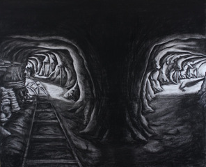 Sasti Underground mine no.3 , Prabhakar Pachpute