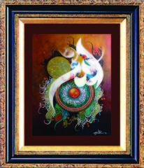 Calligraphy, Maqsood Rana