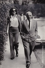 Jackie and Aristoteles Onassis in Paris   ,