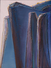 Blue Ridge Mountain, Wayne Thiebaud