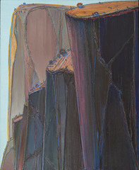 Canyon Mountains, Wayne Thiebaud