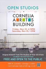 Nov. Open Studios, Cornelia Arts Building