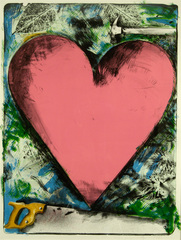 Heart at the Opera,Jim Dine