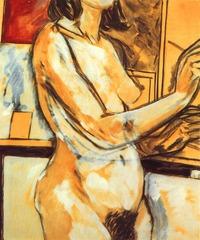 Painter (Sandra), R.B. Kitaj