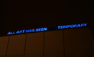 all art has been ...temporary , Driant Zeneli