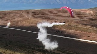 The dream of icarus  was to make a cloud  , Driant Zeneli
