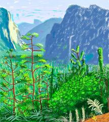 Yosemite I , David Hockney