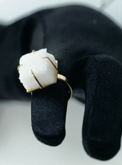 Ring with Sugar Cube, Meret Oppenheim