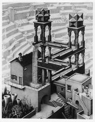 Waterfall, Maurits Cornelis Escher
