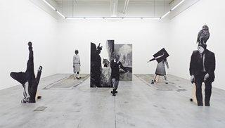 Installation View, Jakob Kolding
