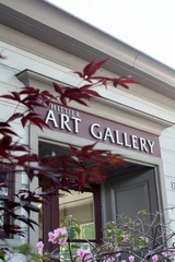 Whittier Art Gallery Entrance, George Rodriguez