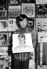 Chris in Record Store, from the series The Jangs, Michael Jang