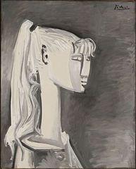Portrait de Sylvette (Portrait of Sylvette), Pablo Picasso