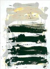 Champs (Fields - Black, Gray, Yellow), Joan Mitchell