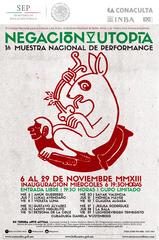 Poster 1a Muestra Nacional, Bruno Cuervo