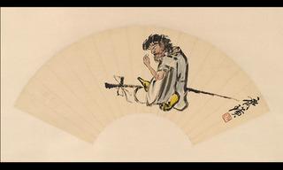 Iron-crutch Li, Qi Baishi