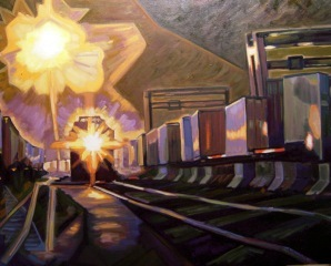Train Yard L.A., Sue Cutler