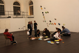 Phase 4, installation view with The Big Draw, Judith Dean