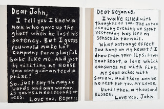 Love Letters (Diptych) , John O\'Connor