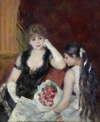 A Box at the Theater (At the Concert), Pierre-Auguste Renoir