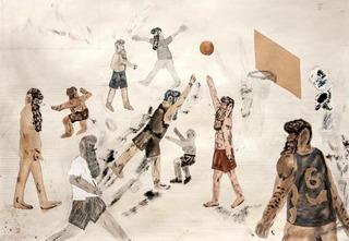 Basketball Practice II , Guðmundur Thoroddsen