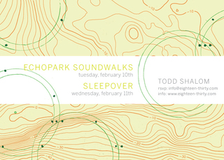 Echo Park Soundwalks,Todd Shalom
