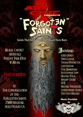 ", Art Core presents, ""Forgotten Saints"""