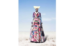 Herero Woman in Patchwork Dress, Jim Naughten