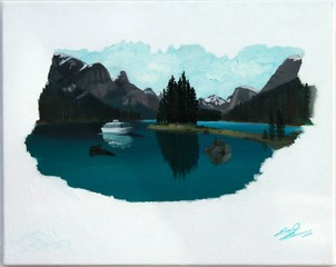 Spirit of Maligne, Lisa J Levasseur