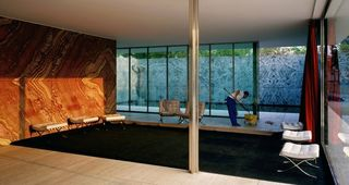 Morning Cleaning, Mies van der Rohe Foundation, Barcelona , Jeff Wall