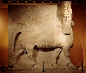 Commissioned for King Sargon II at Khorsobad,Unknown, Khorsobad Lamassu,