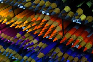 """Color Pencils-Tokyo"", Wally Gilbert"