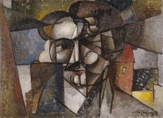 Head in a Landscape (Tête dans un paysage), Albert Gleizes