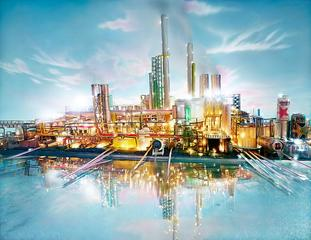 Land Scape Riverside, David LaChapelle