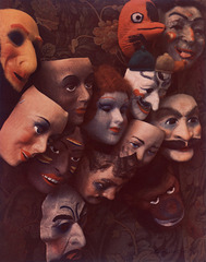 Masks, Boston, Marie Cosindas