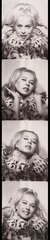 Untitled (photo booth strip - Holly Solomon), Andy Warhol