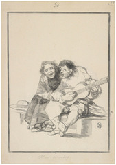 Muy accordes (Close Harmony), Francisco Goya