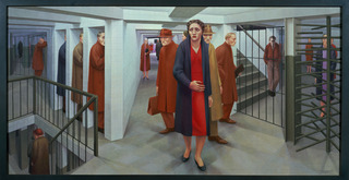 The Subway, George Tooker