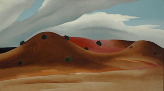 Grey Hills Painted Red, New Mexico, Georgia O\'Keeffe
