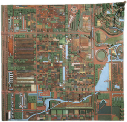 Broadacre City. Project, Frank Lloyd Wright