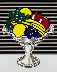 Still Life with Crystal Bowl, Roy Lichtenstein