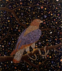 Avian Flower Serpent, Fred Tomaselli