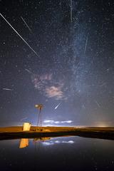 Perseid Meteor Shower, David Mayhew
