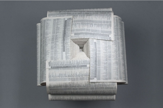 folded creased overlapped, Christine Lee