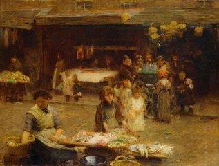 The Fishmarket, Patrick Street, Walter Frederick Osborne
