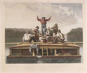 The Jolly Flat Boat Men,
